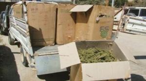 ضبط 6.5 كيلو غرامات من المواد المخدرة والحشيش في دمشق