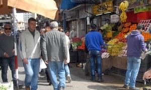 تسجيل 186 ضبطاً تموينياً في أسواق ريف دمشق منذ بداية رمضان