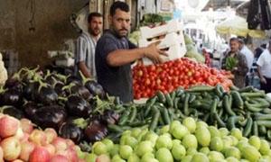 ارتفاع خيالي في أسعار الخضار دمشق.. الخيار بـ275 والفول بـ300 ليرة و