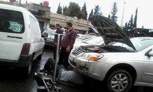 230 صناعي سجل طلب عودة لحوش بلاس ..فرزلي :البدء بإخلاء اشغلات السيارات بالبرامكة