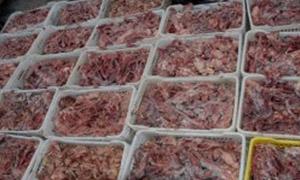 تنظيم 13 ضبطاً تموينياً و مصـادرة 375 كغ من المعلبات واللحوم في الحسكة