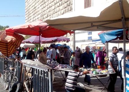 تحذير.. مواد منتهية الصلاحية و أغذية غير صحية في دمشق