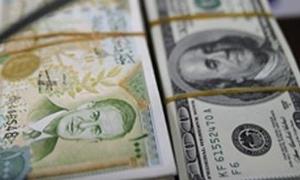 هبوط الطلب على  القطع الأجنببي لدى المصار ف بصورة حادة ألى 6.5 ملايين دولار