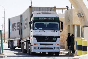 نقابة أردنية تدعو لتسهيل وصول الصادرات السورية إلى الخليج