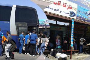 أزمة النقل بين المحافظات السورية في أشدها قبيل عيد الأضحى.. والتذكرة لمن يدفع أجرة أكثر !!