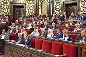 نقاشات حامية في مجلس الشعب حول مشروع قانون التجارة في سورية الجديد