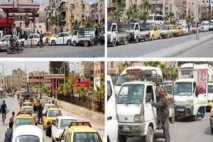 تقرير وكالة عالمية يكشف أزمة و واقع سوق البنزين في سوريا