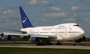 السورية للطيران: حركة المطار لم تتأثر بحالة الطقس..ومستمرون بتسيير الرحلات الداخلية والخارجية