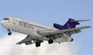 السورية للطيران: رفع أسعار تذاكر الرحلات الداخلية 25%