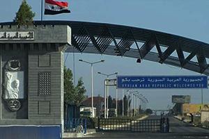 معبر نصيب يفتح أبوابه أمام حركة المرور خلال أيام