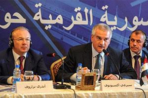 إفتتاح فرع لشركة البيت التجاري سورية القرم المساهمة في دمشق..ومسؤول يصف التبادل بالمحدود نسبياً
