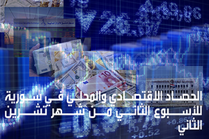 الحصاد الاقتصادي و المحلي في سورية للأسبوع الثاني من شهر تشرين الثاني