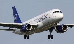 السورية للطيران تعود من جديد..  تخصيص 57 مليون دولار لتعمير طائراتها في إيران