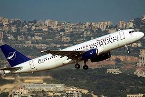 السورية للطيران: نخسر 60 بالمئة في المقعد الواحد