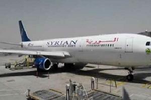 أول طائرة شحن سورية تصل الى بنغازي بعد توقف7سنوات