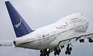 الخطوط الجوية السورية تلغي رحلاتها القادمة والمتجهة إلى مصر