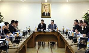 مشروع إحداث هيئة سورية للاختصاصات الطبية