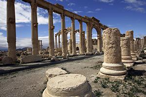 في غياب اليونسكو ...السوريون يرممون آثارهم و افتتاح المتحف في غضون شهرين