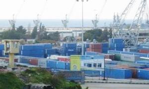 مرفأ طرطوس :استيراد وتصدير 469 ألف طن من البضائع خلال شهر تموز الماضي