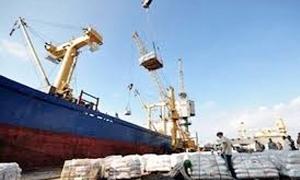 250  باخرة أمت مرفأ طرطوس خلال الربع الأول و1787 مليون طن حجم البضائع
