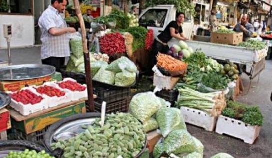 أسعار بعض المواد والسلع والغذائية في حلب ليوم الأحد 3-1-2016