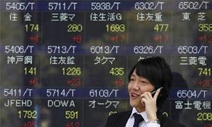 الاسهم اليابانية تتراجع وتنخفض في اسوء اداء لها في 7 سنوات