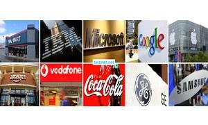 آبل الأولى عالمياً بين أقوى 10 علامات تجارية  في العالم