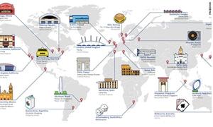 فيسبوك يكشف عن أشهر 25 مَعلم إجتماعي بالعالم