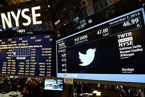 أسهم تويتر تخسر 20 بالمئة من قيمتها خلال يوم واحد