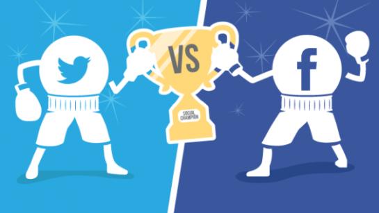 إنفوجرافيك: تويتر VS فيسبوك.. من الأقوى؟