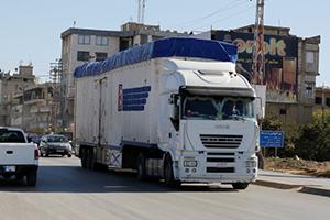 إلغاء الإعفاءات على عبور الشاحنات السعودية والإماراتية للأراضي السورية