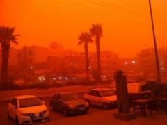 العاصفة الرملية في سورية تسفر عن 3 وفيات و3580 حالة اختناق