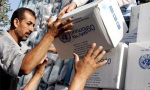 الأمم المتحدة:70%عجز تمويل برامج المساعدة في سورية..والمحتاجين للمساعدة أكثر من 12 مليون مواطن