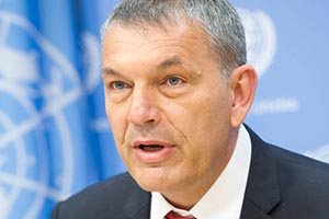 تعيين السويسري فيليب لازاريني مفوضا عاما للأونروا في الشرق الأوسط