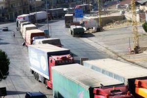 الدبس: مناقشة مسألة الترانزيت المباشر من الأردن إلى العراق عبر سوريا دون تغيير السيارة