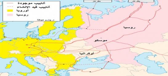 مشكلة الغاز بين روسيا وأوكرانيا
