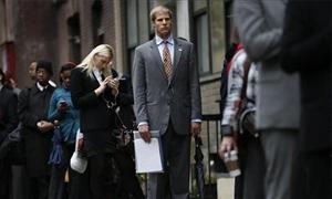 البطالة في امريكا ترتفع إلى 7.9% في أكتوبر على الرغم من إضافة 170 ألف وظيفة
