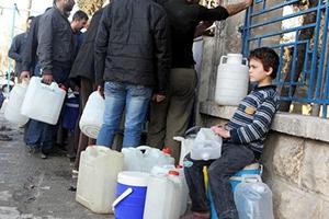 بسبب نقص المحروقات.. توقف الأفران وانقطاع للمياه ومادة الخبز في دير الزور