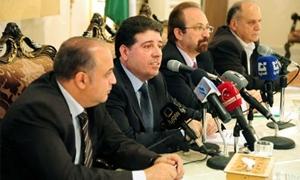 رئيس مجلس الوزراء :  502 مليار ليرة كتلة الرواتب في سوريا سنوياً.. وليتر المازوت يكلف الحكومة 200 ليرة بنسبة دعم 500%