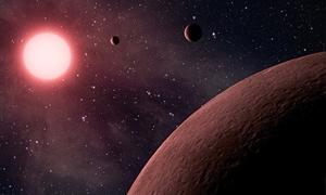 عرض سماوي نادر لثلاثة كواكب