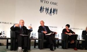 طلال أبوغزاله يشارك في المنتدى العام لمنظمة التجارة العالمية