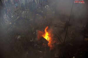في دمشق وريفها..إخماد أربعة حرائق دون وقوع إصابات