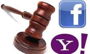 المعارك القضائية بين «ياهو وفيسبوك» تحسم بمعاهدة سلام
